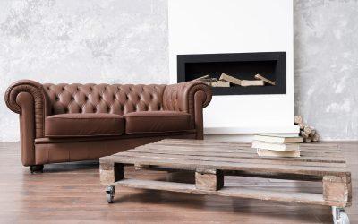 Cómo proteger su sofá de cuero